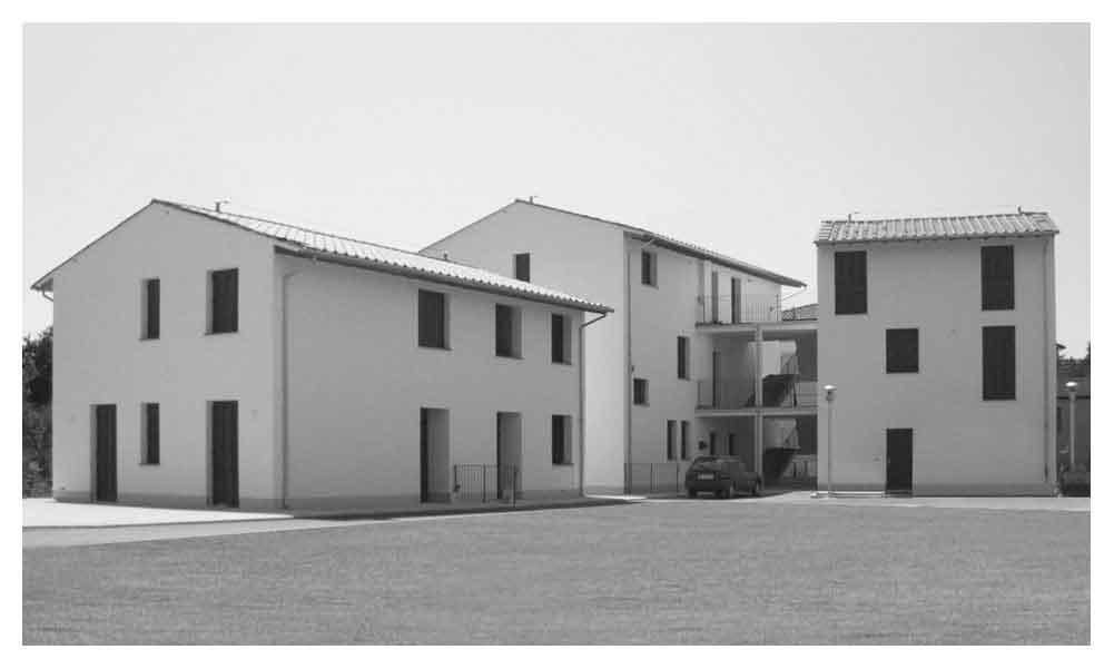 Castiglion Fibocchi housing complex