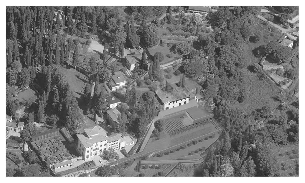 Fiesole Music School Regeneration plan of Villa Torraccia