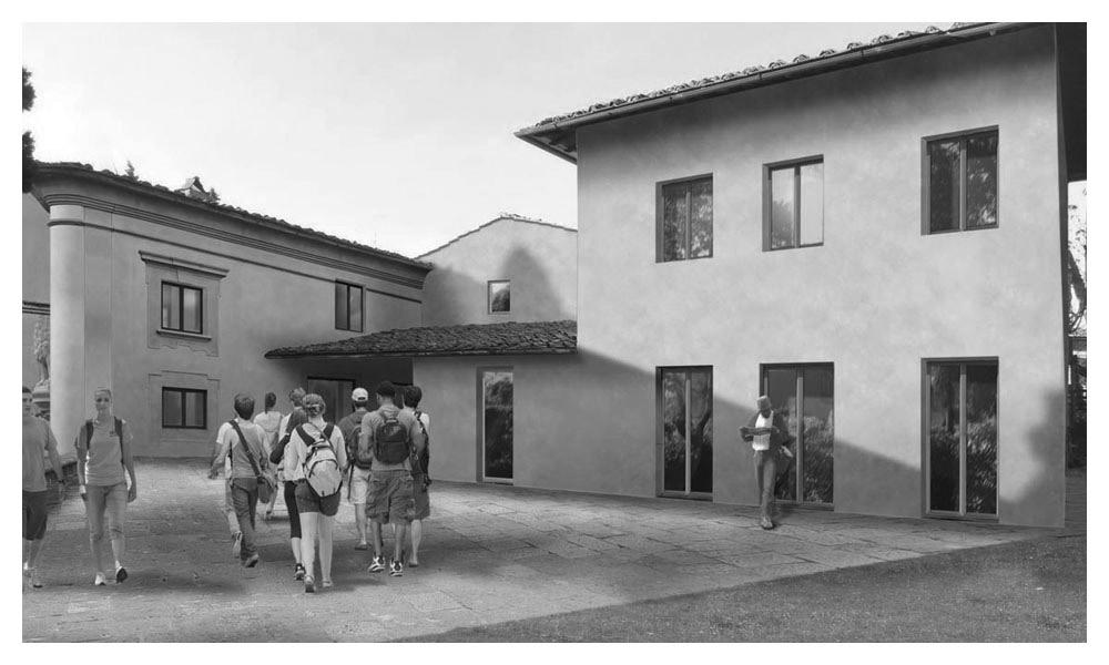 Nyu Villa LA Pietra Campus