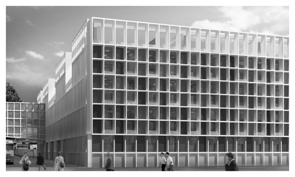 Salvatore Ferragamo Headquarters office building facades