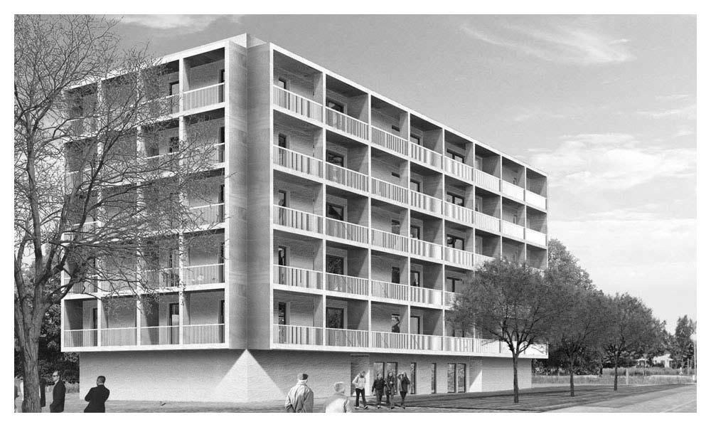 Galileo Ferraris Sud Social Housing Complex